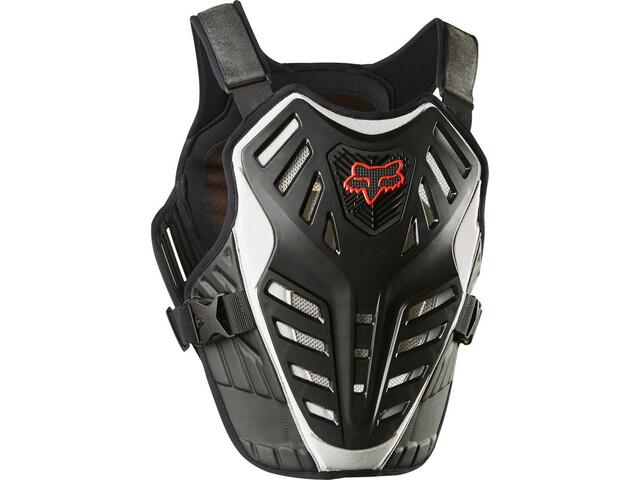 Fox Titan Race Subframe CE Chest Protector Herren black/silver